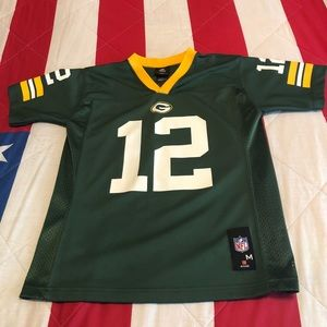 NFL Aaron Rodgers Greenbay Packers Youth Medium